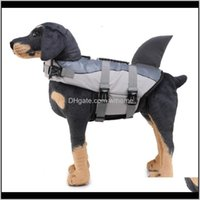 Apparel Supplies Home & Gardensupplies Life Jacket Pet Mermaid Reflective Whale Dog Swimsuit Drop Delivery 2021 L3Ysm