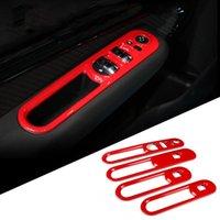 4pcs voitures intérieurs ABS ABS Fenêtre de lunette de commande Panneau de commande Panneau de commande Boîtier de couverture pour mini Clubman F54 Accessoires de style Autre