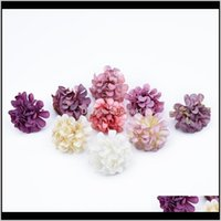 Wreaths Festive Party Supplies & Garden20 30Pcs Mini Silk Carnation Artificial Flowers Home Decor Aessories Crafts Diy Gifts Candy Box Scrapb