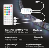 Novelty Lighting wireless bluetooth controller for 5050 RGB led strip