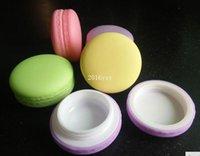 Şeker Renk Macaron Kozmetik Boş Ruj Dudak Balsamı Konteyner Macaron Alt Şişeleme DIY Dudak Parlatıcı Kutusu, 500 adet / grup