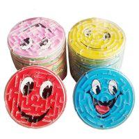 4pcs / lot 7cm 강철 공 트랙 미로 장난감 어린이 참신 조기 교육 두뇌 티저 지적 3D 퍼즐 지그 소드 보드 장난감
