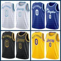 "Russell 0 Westbrook Basketball Jersey Los ""Angeles"" Lakers ""2021 Nouveau Lebron 23 6 James Anthony 3 Davis Earvin 32 Johnson Alex 4 Caruso Mens Kyle 0 Kuzma Multi"