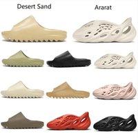 Köpük Runner Takunya Sandalet Üçlü Siyah Beyaz Moda Terlik Bayan Erkek Plaj Çevirme Kutusu Ile 36-45