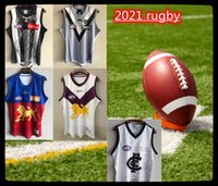 2021 AFL Costa Oeste Eagles Geelong Gatos Rugby Jerseys Essendon Bombers Melbourne Blues Adelaide Crows St Kilda Santos 20/21 GWS Giants Guernsey