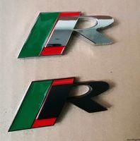 3D Metall Auto Aufkleber Emblem Auto Abzeichen Aufkleber Für Jaguar R Logo X-Typ F-Typ S-Typ XE XF XJ XK XJR XFR