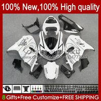 TL1000R TL-1000R 98-03 TL1000R 9HC.20 TL1000 R 98 99 00 01 02 03 TL 1000R Blanc Glossy 1998 1999 2000 2001 2002 2003 Kit de corps