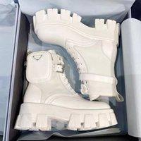 2021 Designer Kvinnor Stövlar Kärlek Arrow Martin Flamingo Laureate 100% Läder Märke Desert Boot med Rem Luxury Non-Slip Winter Shoe Rois Storlek 35-42
