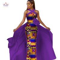 Abiti africani per le donne Plus Size Dashiki African African Abiti per le donne in abbigliamento africano Abiti da festa 4XL Altro WY2340