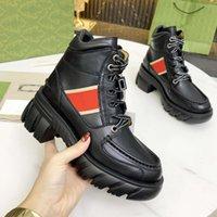 2021 botas zapatos para mujer diseñador tacones de lujo de lujo de invierno bota de invierno botines de zapato de cuero mujeres caballero trabajo seguridad motocicleta lluvia moda nieve calidad rápido tamaño 35-41