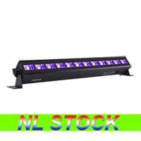NL STOK12 LED Siyah Işık, 36 W UVA 395-400nm Blacklight Glow Karanlık Parti Malzemeleri Fikstür Noel Doğum Günü Düğün Sahne Aydınlatma Için