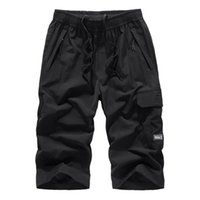 Men's Pants 2021 Shorts Men Summer Plus Size Thin Fast-drying Beach Trousers Casual Sports Short Clothing Spodenki Homme