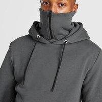 Sweats à capuche pour hommes Sweatshirts personnalisés Logo Sportswear Capuchon à glissière Pull Pure Couleur Pur Plus Sweat-shirt Velvet Sweat à capuche Collier Pullov Pullov