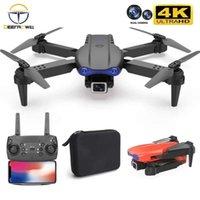 K3 Drone 4K HD Doble Cámara Dual de ángulo ancho 1080p WiFi Altura de posicionamiento visual Mantenga RC Drone Sígimelo RC Quadcopter Toys 210928