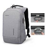 Backpack Kingsons Laptop Men Women Anti-theft Lock Travel USB Charging Fashion Backpacks School Bag Phone Sucker Luxury