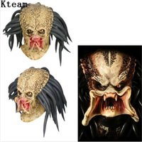 Top Grade Latex Movie Cosplay Helmet Props Antenna Halloween Party Horror Xcoser Face Head Mask toys dsf0821