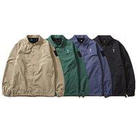 Удобные и дышащие модные мужские куртки повседневный свободный с длинным рукавом водонепроницаемый пальто съемной шляпу Одежда много цветов