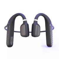 MD04 Auriculares de conducción ósea Bluetooth 5.0 Música Llamada Teléfono Auriculares Función Función inalámbrica Auricular Larga Batería Vida Distancia impermeable