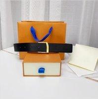 2021 الأزياء مشبك كبير حزام جلد طبيعي مع مربع مصمم الرجال النساء جودة عالية أحزمة رجالي AAA208