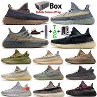 2021 Ash Blue Tail Light Carbon Cinder Reflective Kanye Shoe Mens Women Running Shoes Yecheil Cream White Bred Earth Zebra Zyon Sports Outdoor Sneakers