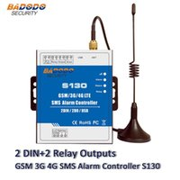 Badodo GSM SMS 2G 3G 4G 원격 컨트롤러 경보 시스템 2 DIN DOUT RTU 자동화 모니터링 S130 스위치 시스템