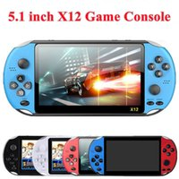 X12 Handheld Game Player 8GB Memory Portable Video Game Consoles with 5.1 inch Color Screen Display Support TF Card 32gb MP3 MP4 Player