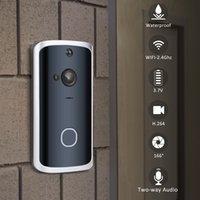 H8 WIFI DOORBELL CAMERA SALIDA IP Puerta Campana Cámara Al aire libre impermeable Smart Wireless Doorbell Night Vision PIR