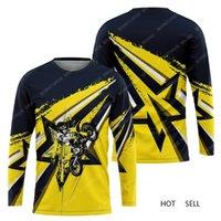 Jerseys Motocross MX Bike Radfahren T-Shirt Männer Sommerteam Camiseta Langarm Downhill Kleidung Borntoride