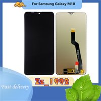 """Cell Phone Touch Panels 5.6"""" Top quality Original for Samsung Galaxy M10 M105 Crystal Clear LCD Screen Replacement Assembly Digitizer display black"""
