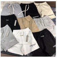 2021 Erkek Kısa Pantolon Rahat Essentials Gevşek Döngüleri ve Hip-Hop Şortlu Mektup Baskılı Pantolon Yaz Şortu En Kaliteli