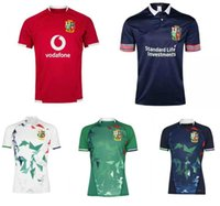 2021 National Rugby League Britânica e Irlandês Leões Rugby Jersey Camisa Nações Leões Rugby Polo Camisa S-3XL Lions Vermelho Pro Jersey 20/21