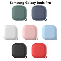 yutong Silicone earphone Case for Samsung Galaxy buds live Pro Shell Accessories anti-drop Shockproof Soft protector Fro Pro