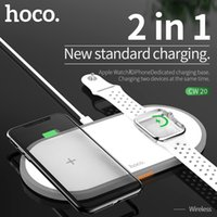 HOCO 2in1 Original Wireless Charger for Apple Watch Series 5 4 3 2 Magnetic i-Watch USB Cable iphone 11