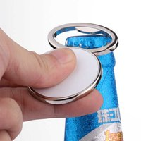 3 Style Heat Transfer Metal Beer Bottle Opener Fridge Magnet Sublimation Blank DIY Corkscrew Household Kitchen Tool