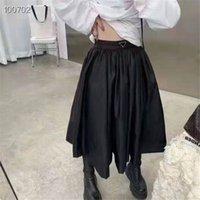 Kadın Etek Şort Yay Bel Budge Lady Yarım Elbiseler Kısa Pantolon Ters Üçgen ile Kısa Pantolon İlkbahar Yaz Sonbahar Kış Için Etekler