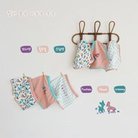 2-5yrs Mädchen Höschen Weiche Baumwolle Unterwäsche Cartoon Deer Print Baby Unterhosen Kleinkind Briefs Atmungsaktiv Kind Shorts