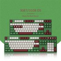Klavyeler Akko 3108DS Mekanik Klavye 85% PBT Keycaps Kablolu 108 Tuşlar GATERON Anahtarı Bilgisayar Gamer Kiraz Profile Oyun