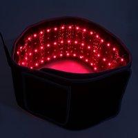 850nm Doppia lunghezza d'onda Terapia Cinture Lipo Laser Wrap Slimming Mat Rosso LED Light Light Far Infrarosso 360 Laser Cintura Lipo per la perdita di peso