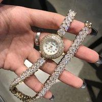 Reloj de pulsera de cristal austriaco de Qualtiy AAA Circon Four para la joyería de moda de la fiesta de bodas hecha con todo