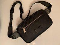 Vendite calde Borse in vita Uomini Donne Leather Sport Sport Runner Fanny Pack Pancia Vita Bum Bag Bag Fitness Belt Belt Jogging Pouch Back Grid Bags # 51888
