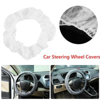Steering Wheel Covers Universal Clear Car Protective Disposable Auto Accessories For Outdoor Personal Ornaments