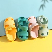 Sandals Summer Baby Hole Shoes Children Non -slip Soft Sole Outdoor Breathable Sneakers Kids Boys Girl Beach Fashion