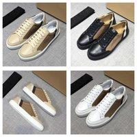 2021 Designer classique Casual Homme Sneakers Chaussures de Prestige Haute Qualité Confortable Vintage à la mode Vintage vérifié Toile en cuir véritable