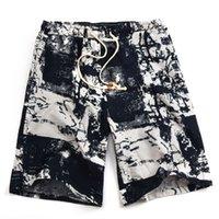 2021 Soccer Shorts Summer Hot Style Algodão e Linho Impresso Big Calças Praia Menos CCC222