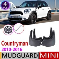 MUDFLAP автомобиля для Mini Countryman R60 2010 ~ Fender Mud Black Guard Splash Lats Mudguards Аксессуары 2011 2011 2013 2014 2015