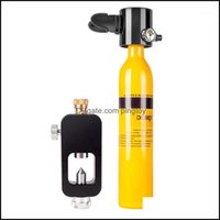 Masks Snorkeling Water Sports & Outdoorsdideep 3Pcs Set Equipment Mini Scuba Diving Breathing Air Tank Hand Pump Oxygen Cylinder Adapter Bag
