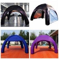 Mais publicidade Tenda de aranha opção inflável festa evento exposição cúpula marquee carro garagem dossel oxford centro de trabalho para o seu negócio