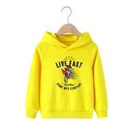 어린이 착용 봄과 가을 2021 새로운 어린이 까마귀 남성 여성 스웨터 코튼 얇은