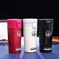 Tasse tasse à café tasse en acier inoxydable vide flacons thermoses mon bouteille d'eau isolé thermo tasse de voyage voiture mugs 380 ml