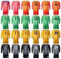 Club team portiere GK portiere manica lunga calcio 13 willy caballero jersey set kepa arrizabalaga robert verde edouard mendy camicia da calcio kit q-e-x